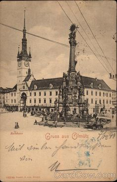 Gruss aus Olmutz Czech Republic Eastern Europe