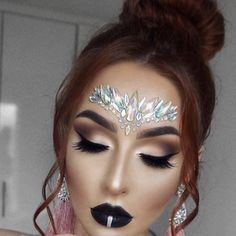 Adhesive Face Gems Festival Jewelry Temporary Face Jewels Stickers Party Body Rhinestone Flash Body Make Up Accessories Gem Makeup, Rave Makeup, Body Makeup, Glitter Face, Glitter Makeup, Glitter Eyeshadow, Festival Face Gems, Face Rhinestones, Make Carnaval