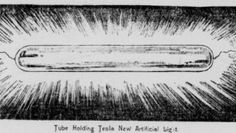 Artificial daylight made by Tesla (1899)