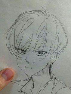 Pin by kim taehyung on art in 2019 anime art, drawings, art sketches. Anime Drawings Sketches, Anime Sketch, Manga Drawing, Manga Art, Cute Drawings, Anime Art, Drawing Poses, Drawing Ideas, Poses References