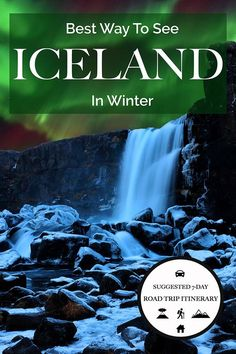 The best Iceland trip itinerary for winter. It brings you to all must-see landmarks of Southern Iceland. Including tips for accommodation, hiking and sightseeing.