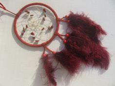 Widder- ein roter Traumfänger mit Jaspis von Hochwertige  Traumfänger, Schmuck, u.v.m. auf DaWanda.com
