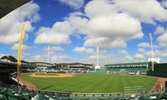 The Green Monster at JetBlue Park is just a little taller than the one at Fenway.