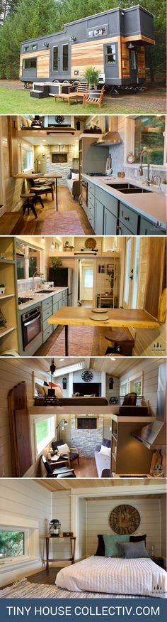 The most expensive tiny house on wheels at $155,000!