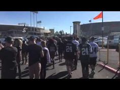 Liked on YouTube: Oakland Raiders Fans Party On Way To Game #NYJvsOAK