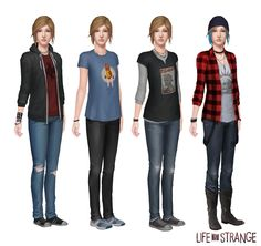 We are really getting not only a Life is Strange Sequel but also a Life is Strange prequel? Some leaked images featuring Chloe Price and Rachel.