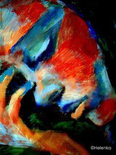"Saatchi Online Artist Helena Wierzbicki; Painting, """"Reflections"""" #art"