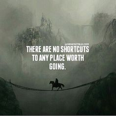 No shortcuts to learning it the hard way either ;) *dR* ---