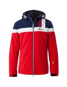 VAIL JL 2-PLY STRETCH JACKET, Red Intense