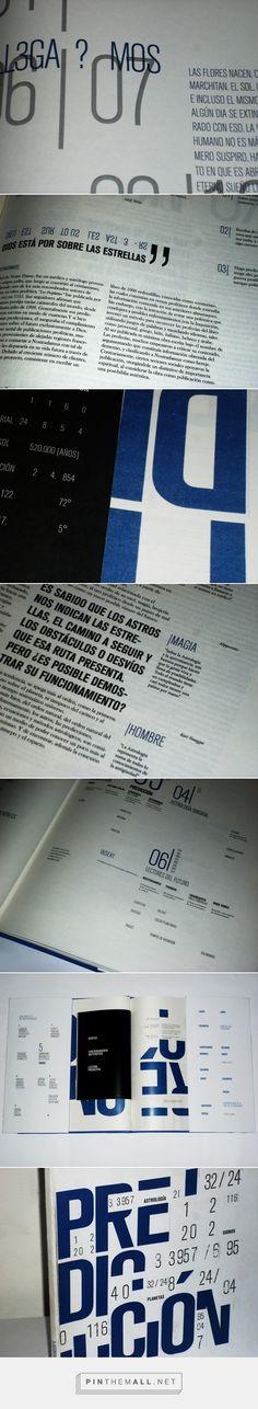 PREDICCIÓN - LIBRO OBJETO EDITORIAL - on Behance...