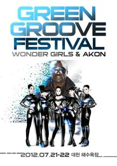 Wonder Girls to perform with AKON at 2012′s Green Groove Festival