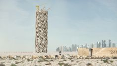 qatar world cup memorial by 1week1project honors deceased builders