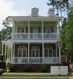This house was features in Coastal Living magazine with porch posts made by Century Porch Post.