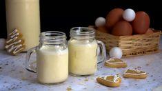 Vaječný likér domácí: recept na skvělý vaječňák Glass Of Milk, Rum, Whisky, Drinks, Food, Alcohol, Drinking, Beverages, Essen