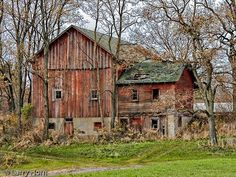 Pictures Old Barns Falling Down