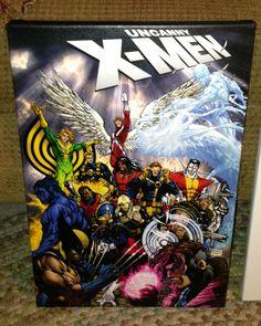 Custom Michael Turner Uncanny X-Men Canvas