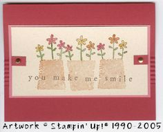 Fun Filled - Flowers by rubberstampaholic - Cards and Paper Crafts at Splitcoaststampers