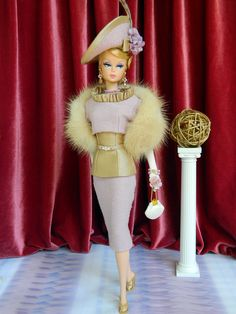 *Lady Aster* ~OOAK Fashion for Silkstone Barbie/Fashion Royalty by Joby Originals