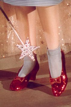 Dorothy's Ruby Slippers coming to London - we can't wait to click our heels and see them.