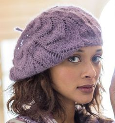 Collier Slouchy Hat Free Knitting Pattern and more slouchy hat knitting patterns
