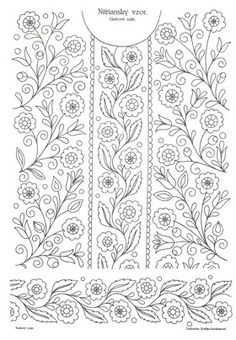 Mexican Embroidery, Embroidery Neck Designs, Floral Embroidery Patterns, Embroidery Suits Design, Embroidery Motifs, Embroidery Transfers, Rose Embroidery, Embroidery Fashion, Vintage Embroidery