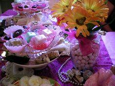 Pretty in Pink Afternoon Tea Menu