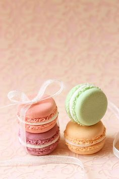 Colours of Macarons