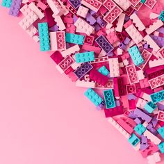 Pink Legos / Violet Tinder Studios | content creation + styling + staging | colorful recipes