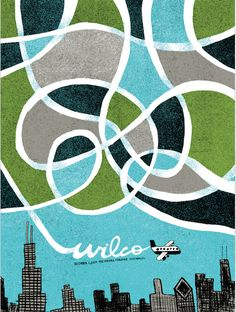 Wilco - gig poster