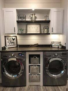 Mudroom Laundry Room, Rustic Laundry Rooms, Laundry Room Remodel, Laundry Room Bathroom, Small Laundry Rooms, Laundry Room Design, Laundry Room Organization, Laundry Room Makeovers, Organized Laundry Rooms