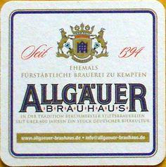 Allgäuer ~ Allgäuer Brauhaus ~ Kempten ~ Germany
