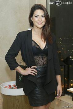 Fernanda Paes Leme - body em renda - lingerie outerwear - lace - black