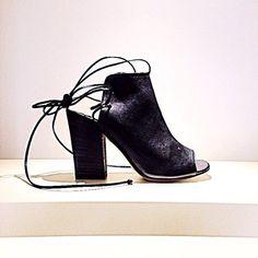 Scarpe MILLA' Pelle Sandalo Art.T201 West Nero