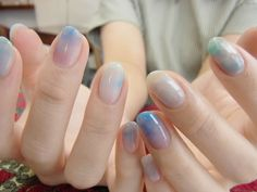 NAIL-COMMON: Blue nail