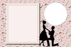 Noivado Em Paris Kit Completo Com Molduras Para Convites Rotul Molduras Para Convites De Casamento Fazer Convite De Casamento Cartoes De Casamento Artesanal