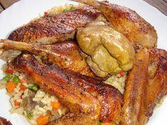Hungarian Recipes, Hungarian Food, Paella, Chicken Wings, Bacon, Pork, Turkey, Kale Stir Fry, Hungarian Cuisine