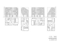 computer graphics, floorplan and elevations