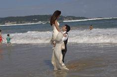 Boda,fotos en la playa.