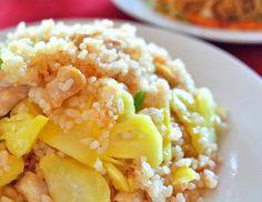 Receta: Cóctel tropical de arroz integral