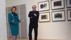 Queen Sonja opened Nordic graphic art exhibition