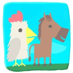 Ultimate Chicken Horse android game free download - http://apkgamescrak.com/ultimate-chicken-horse/