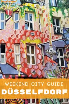 The ultimate weekend guide to exploring Düsseldorf, Germany, easily one of the most underrated cities in Europe. Best things to do, top restaurants and bars + best accommodation options in the city.   Travel Dudes Travel Community #Dusseldorf #Germany