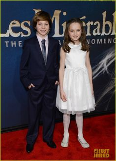 Gavroche and little Cosette. That I ps just too adorable