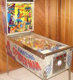 Amazing Spider-Man Pinball By D. Gottlieb - Photo