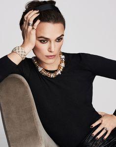Keira Knightley, nouveau visage des bijoux Coco Crush de Chanel Joaillerie