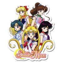 Sailor Scouts Sticker - GE Animation