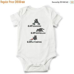 10% OFF SALE Cat baby onesie, Funny onesie, Cat toddler shirt, Unique baby gift, Cat baby bodysuit, Trending baby clothes by OldCauldronGifts on Etsy