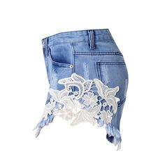 New in our shop! Lace and Ripped Denim Shorts  http://kamaste.com/products/lace-and-ripped-denim-shorts?utm_campaign=crowdfire&utm_content=crowdfire&utm_medium=social&utm_source=pinterest