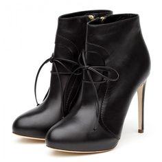 Rupert Sanderson High Heel Platform Booties ($1,095) ❤ liked on Polyvore