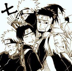 team7, sakura haruno, sasuke uchiha, naruto uzumaki, haruno sakura, uchiha sasuke, uzumaki naruto, kakashi hatake, hatake kakashi, yamato, sai